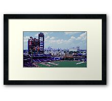 Philadelphia's ballpark Framed Print