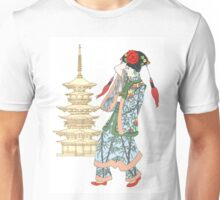 Colourful Pagoda Princess Unisex T-Shirt