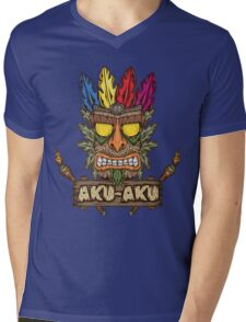 Aku-Aku (Crash Bandicoot) Mens V-Neck T-Shirt