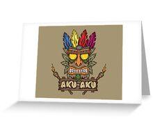 Aku-Aku (Crash Bandicoot) Greeting Card