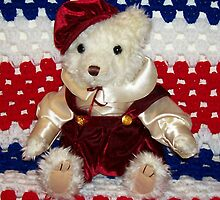 My J. C.Penney Christmas Collection Bear by Deborah Lazarus