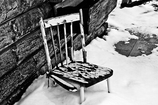 Broken Chair by Jason Dymock Photography