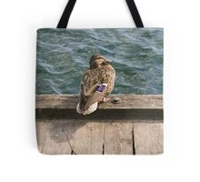 Duck! Tote Bag
