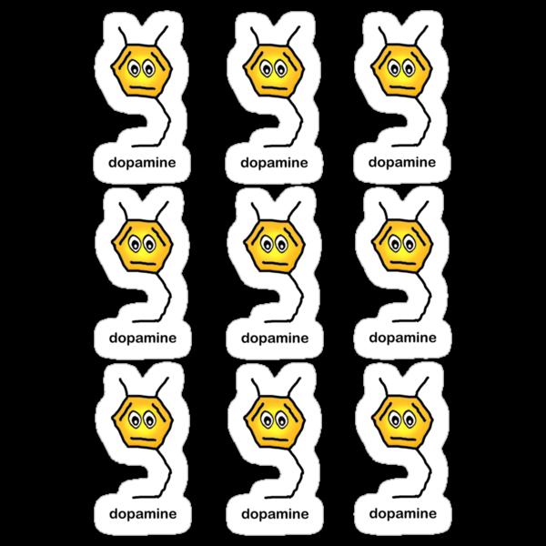 Dopamine Sticker Sheet by bumpybrains
