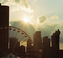 Chicago Navy Pier by SanJanPhotos