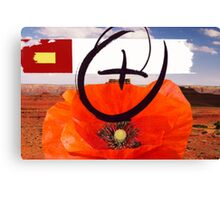 Red Poppy 1 Canvas Print