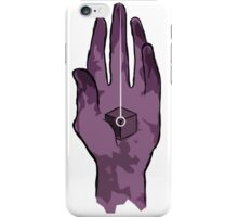 worlds hand, cartoon style!! (i guess) iPhone Case/Skin
