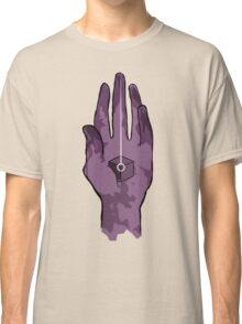 worlds hand, cartoon style!! (i guess) Classic T-Shirt
