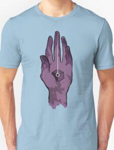 worlds hand, cartoon style!! (i guess) Unisex T-Shirt