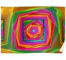 Fractal Full Of Color 2 Poster