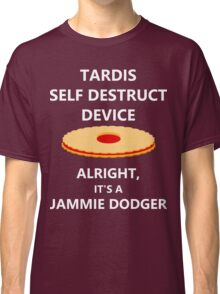 TARDIS self destruct? Classic T-Shirt