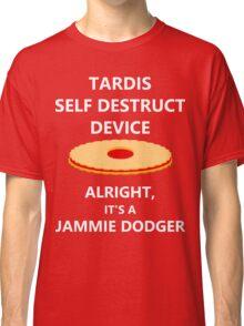 TARDIS self destruct? Classic T-Shirt