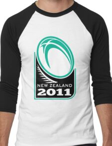 Rugby Ball New Zealand 2011 Men's Baseball ¾ T-Shirt