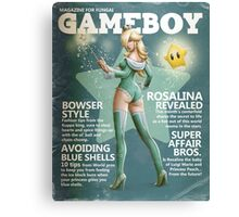 Gameboy: Rosalina Canvas Print