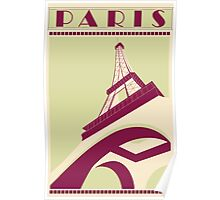 Paris - Eiffel Tower Poster Poster