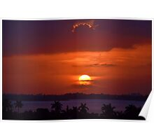 Angels Head Sunset Poster