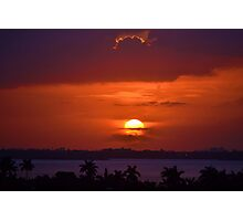 Angels Head Sunset Photographic Print