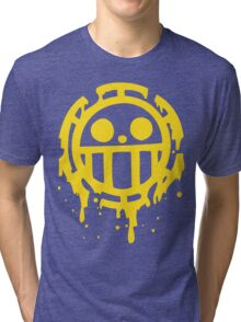 Heart pirates trafalgar law one piece Tri-blend T-Shirt
