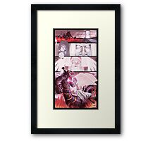 PART 25 - A Fallen Angel Spreads His Wings Framed Print