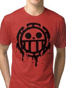 Heart pirates trafalgar law one piece 2 Tri-blend T-Shirt