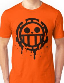 Heart pirates trafalgar law one piece 2 Unisex T-Shirt