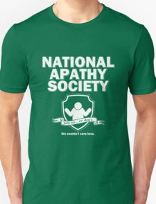 National Apathy Society T-Shirt