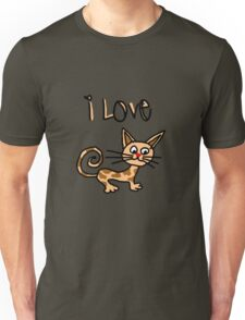 I LOVE CAT Unisex T-Shirt