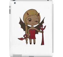 Devil kawaii iPad Case/Skin
