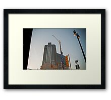 MGM Sunset Framed Print