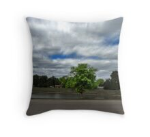 Sky close to the House Throw Pillow