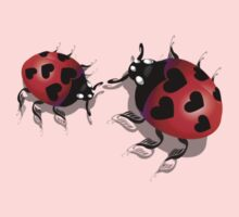 Two Heart Ladybugs by Lotacats