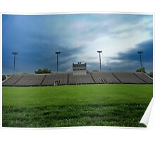 Football Stadium Poster
