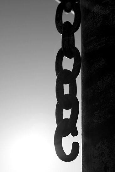 Chain Silhouette... Free State, South Africa by Qnita
