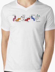 Hormones Mens V-Neck T-Shirt