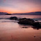 Beach Sunset. by KWTImages