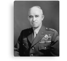 General Omar Bradley Canvas Print