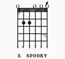 E Spooky (Black) Kids Clothes