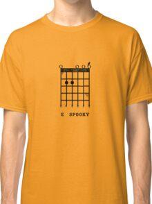 E Spooky (Black) Classic T-Shirt