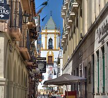 Alley in Ronda by LaquelW