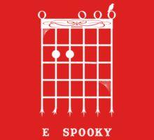 E Spooky (White) Kids Clothes