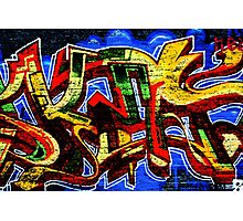 Graffiti 17 Photographic Print