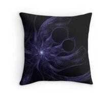 Banshee Fractal Abstract Art Throw Pillow
