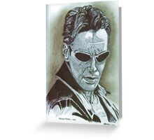 Keanu Reeves Greeting Card