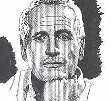 Paul Newman by WienArtist