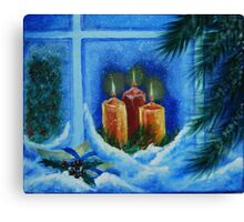 light up the way to your home Canvas Print
