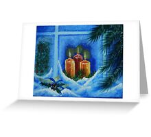 light up the way to your home Greeting Card