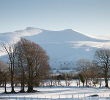 Pen-Y-Fan and Corn Du by Mark Zytynski