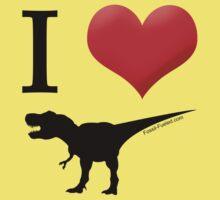 I Heart Dinos Kids Clothes