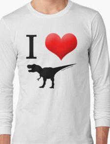 I Heart Dinos Long Sleeve T-Shirt