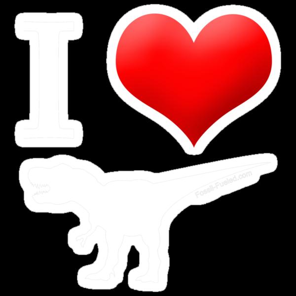 I Heart Dinos by dinoneill